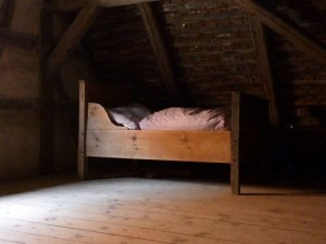 Bed in the Attic